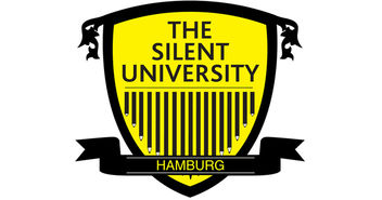 Stilles Wissen hörbar machen - das Logo der 'Silent University' - Copyright: The Silent University