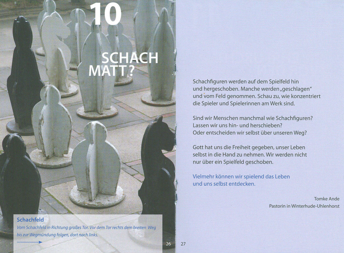 Schach matt? - Copyright: Christa Palma