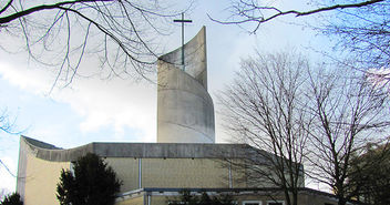Kolbe-Kirche in Wilhelmsburg - Copyright: © Creative Commons