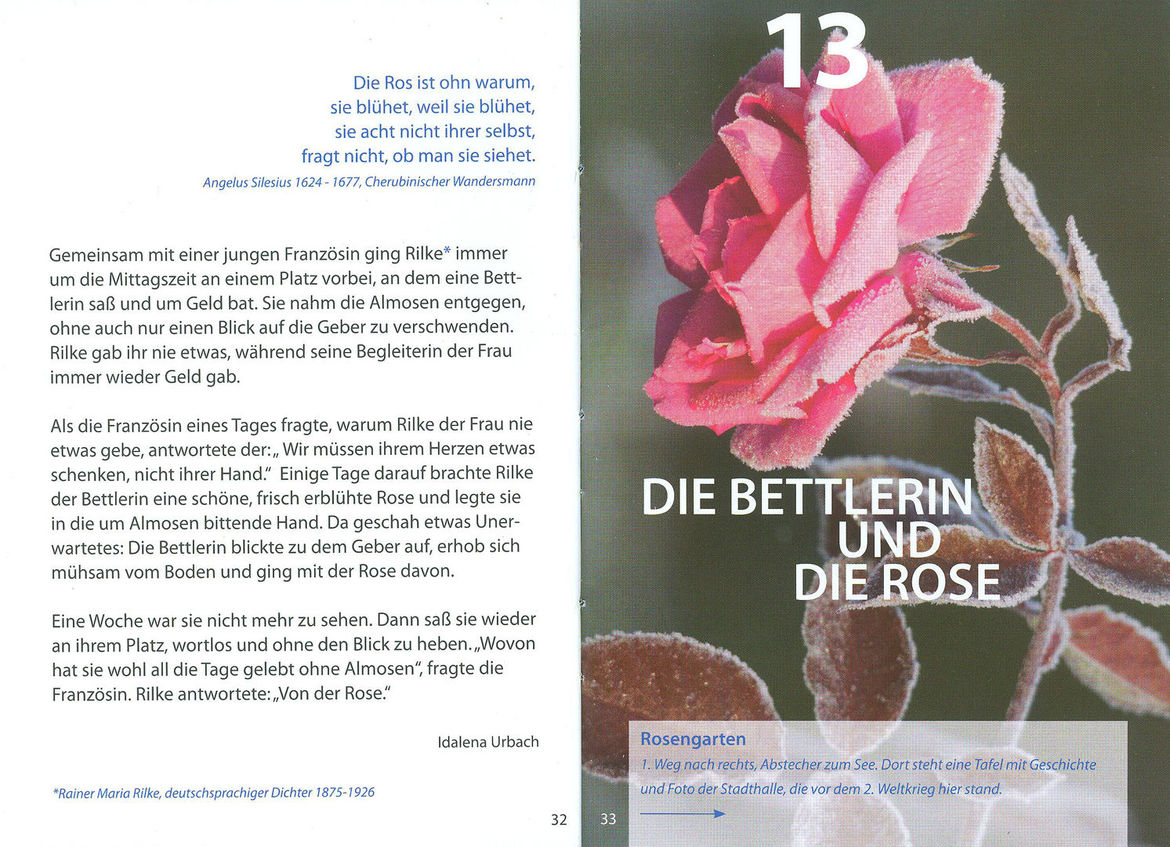 Die Bettlerin und die Rose - Copyright: Christa Palma