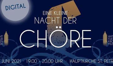 """Livestream """"Eine kleine Nacht der Chöre"""""""