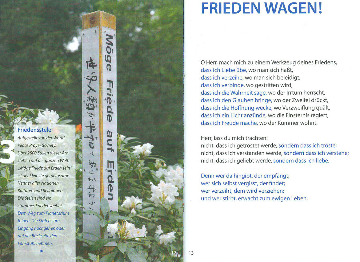 Frieden wagen - Copyright: Christa Palma
