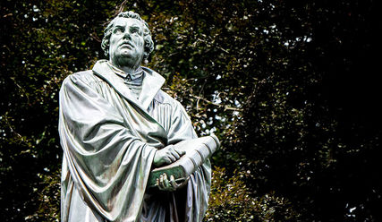 Luther-Statue - Copyright: Pixabay