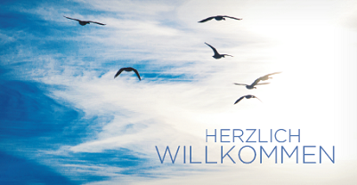 Vögel am wolkigen Himmel - Copyright: Kirchenkreis/Koenemann