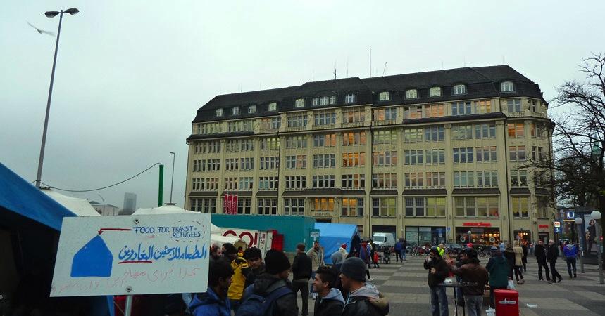 Hamburg Hauptbahnhof Flüchtlinge