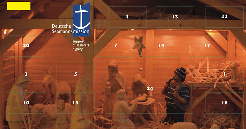 Der Maritime Adventskalender der Seemannsmission